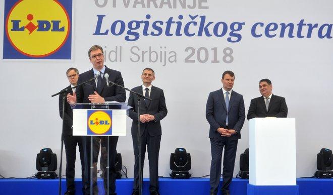 NOVA PAZOVA/ Kompanija LIDL otvorila logistički centar!