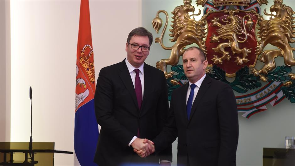 SARADNJA/ Bugarski predsednik Rumen Radev gost Srbije