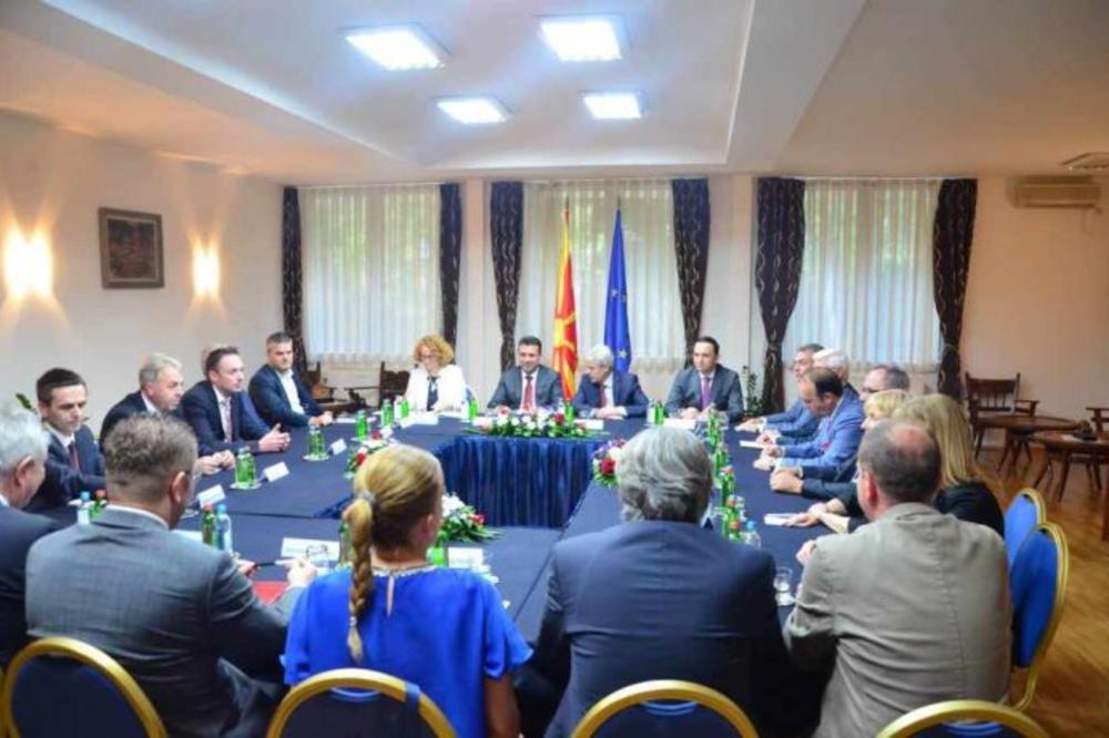 Skopje: nastavak razgovora o referendumu!