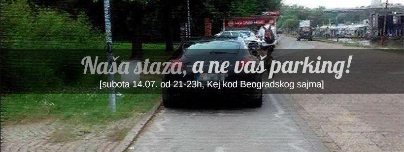 Beograd: U subotu biciklisti blokiraju savski kej