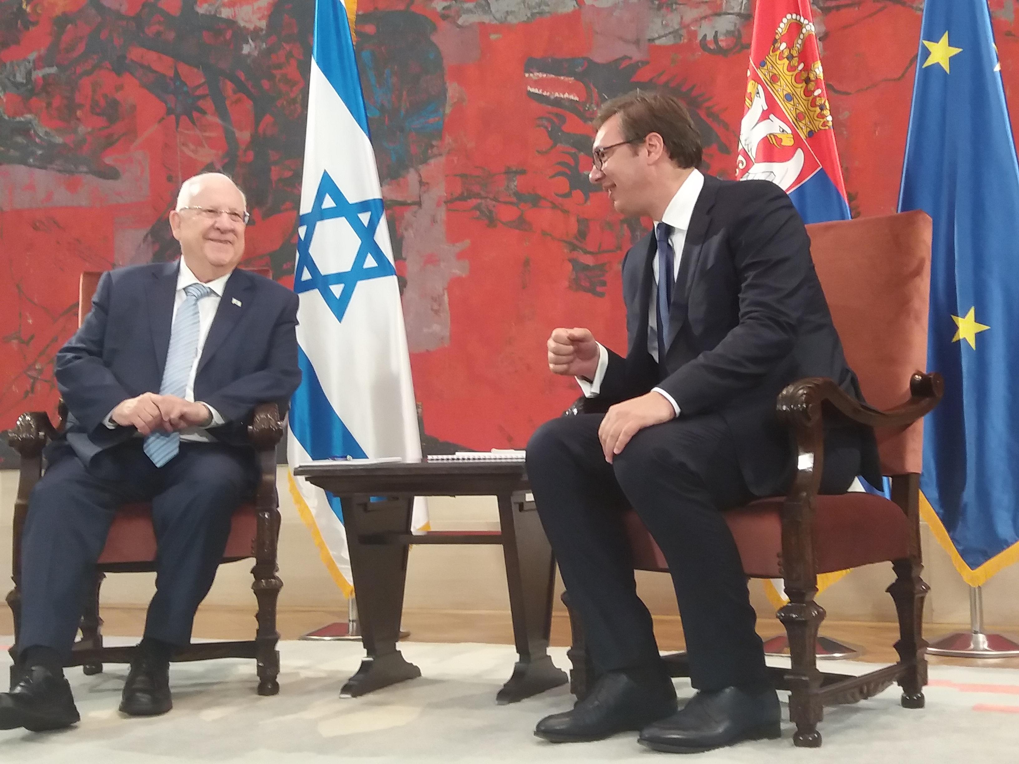 Predsednik Izraela gost Srbije