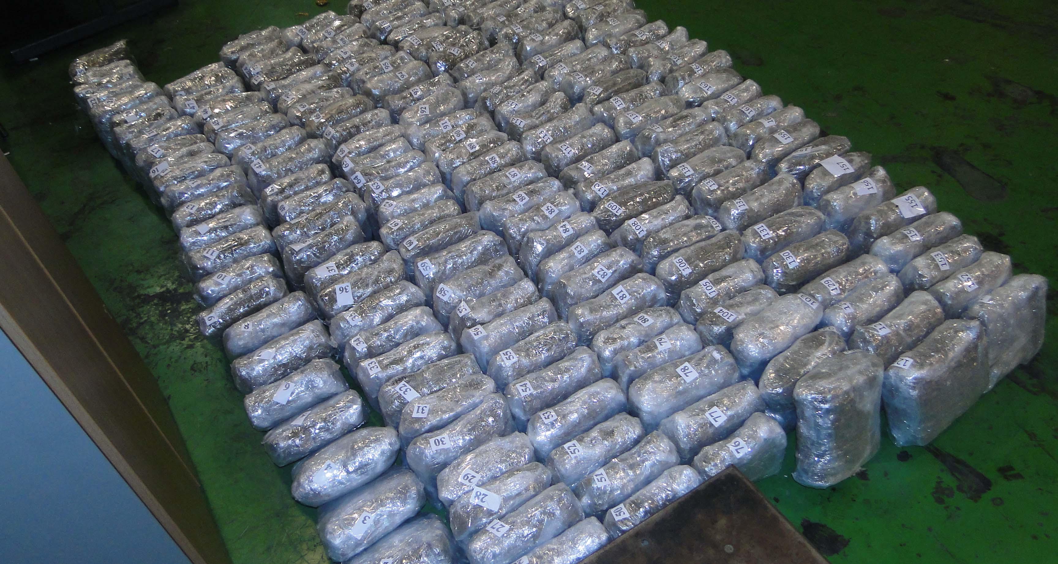 Dimitrovgrad: zaplenjeno 590 kilograma marihuane