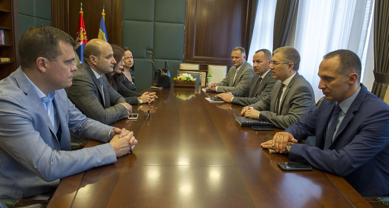 Stefanović razgovarao sa predstavnicima advokata