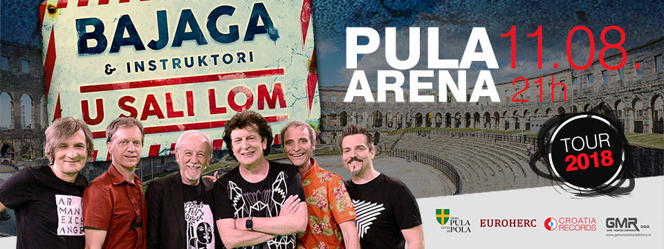 BAJAGA: Triumfalni koncert u Pulskoj Areni