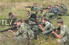 PARAVOJSKA: Policija zatvorila kamp na Zlatiboru