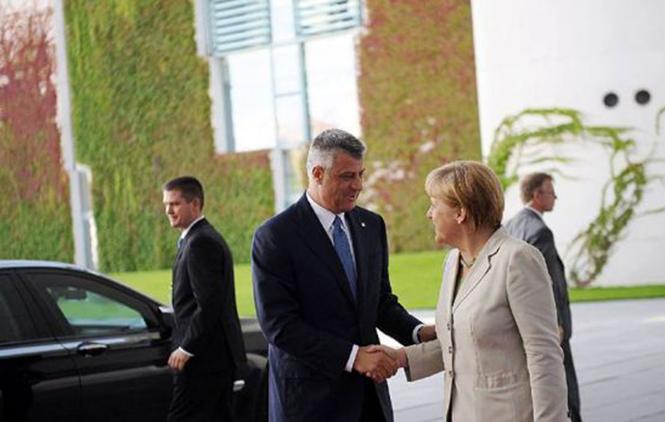PROMENIO SE: Hašim Tači pozdravio stav Angele Merkel o Kosovu