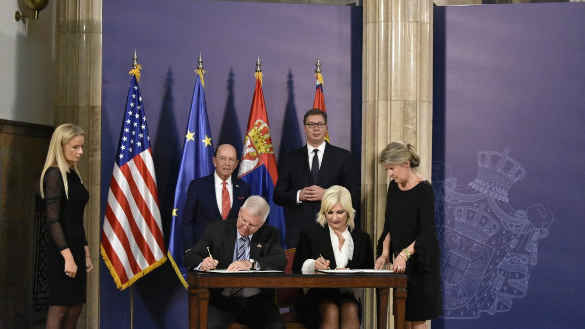 MEMORANDUM: Amerika prepoznala Srbiju kao otvorenu zemlju