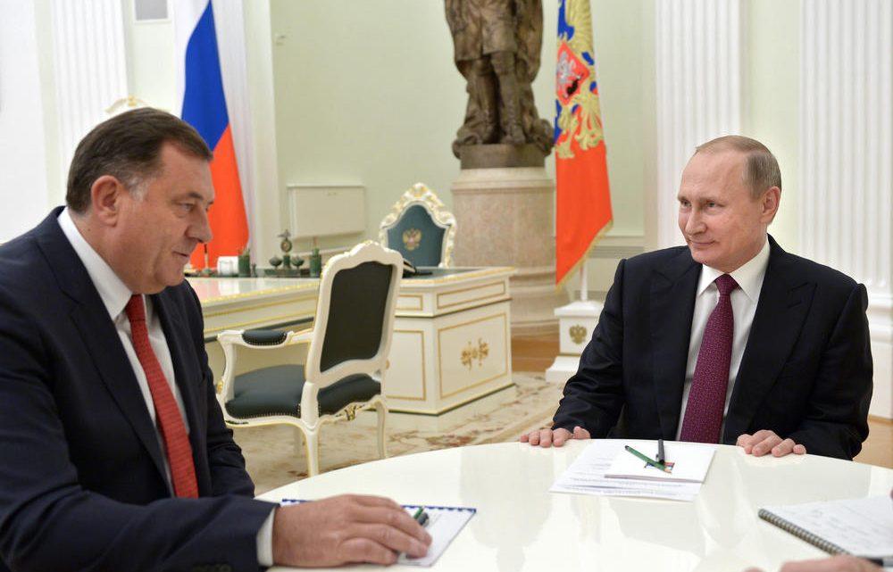 ČEKAJUĆI IZBORE: Dodik kod Putina