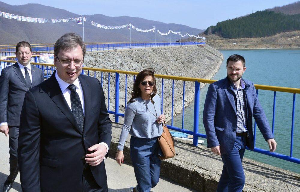 KIM: Vučić obišao Gazivode