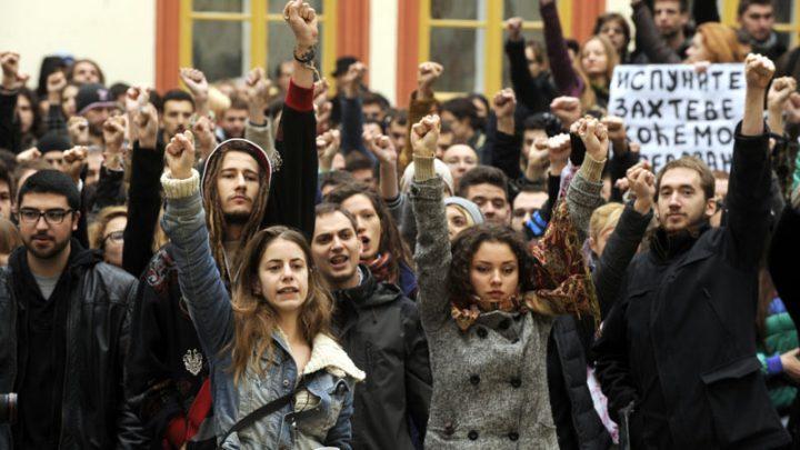 BEOGRADSKI STUDENTI : Sedmi ispitni rok ili blokada Filozofskog fakulteta