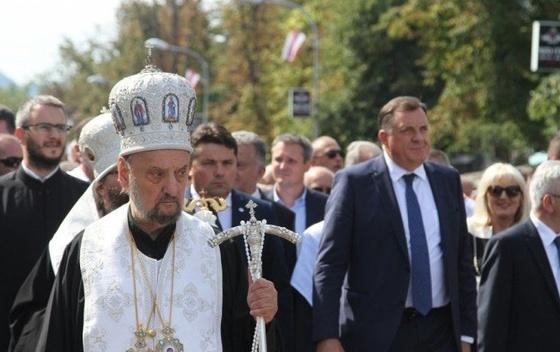 POSLE SVEGA: Kačavenda i Dodik zajedno na liturgiji u Banjaluci