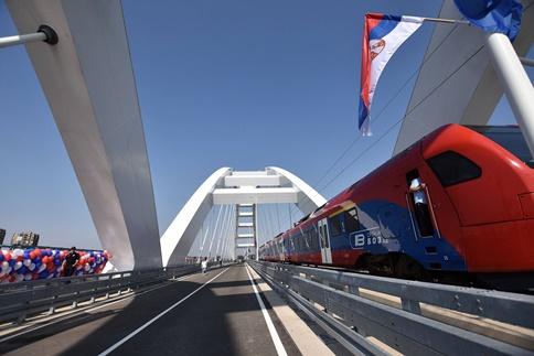 NOVI SAD: Žeželjev most ponovo radi!