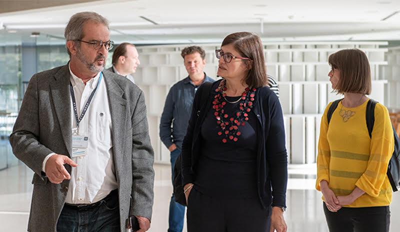 MSUB: Ema Dekster posetila Muzej savremene umetnosti