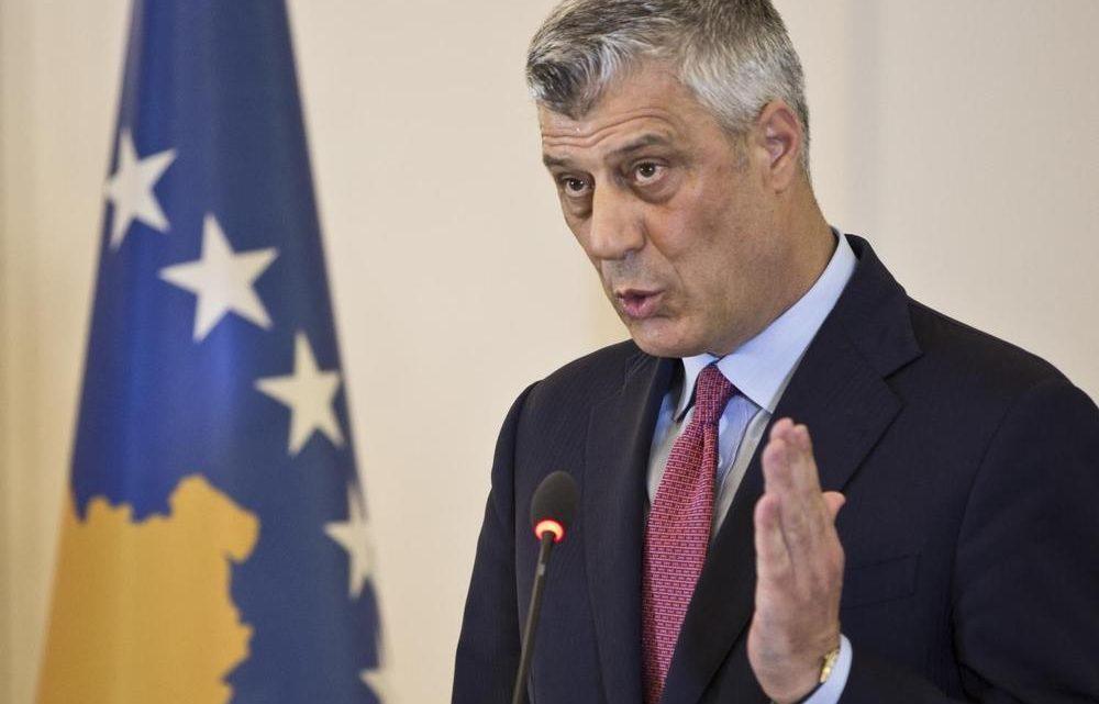 KOSOVO: Tači bez podrške – sam samcat!