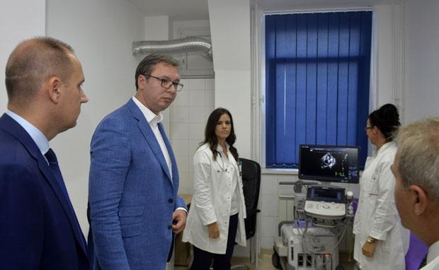 KBC ZEMUN: Vučić obećao – kraj obnove do Vidovdana!