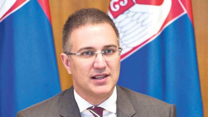 MINISTAR STEFANOVIĆ: Prijem Kosova u Interpol – katastrofa za celi svet