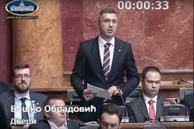 SKUPŠTINA SRBIJE: Boško Obradović pita: Ko je ovlastio Vučića da pregovara o KiM?