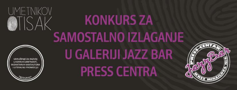 KONKURS: Galerija Jazz Bar Centra – poziva umetnike