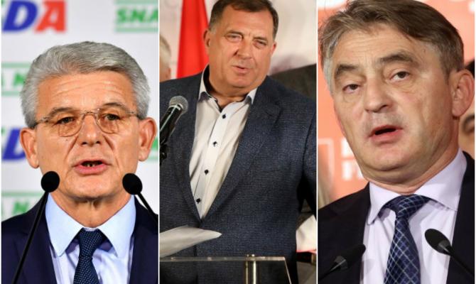 IZBORI BIH: Dodik, Džaferović i Komšić – pobednici