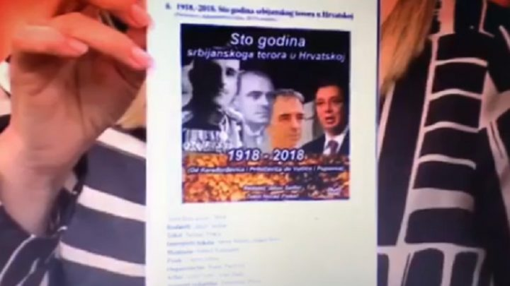 """DEMOKRATIJA : HRT reklamira knjigu """"Mit o Jasenovcu"""" i """"Sto godina srbijanskog terora"""""""