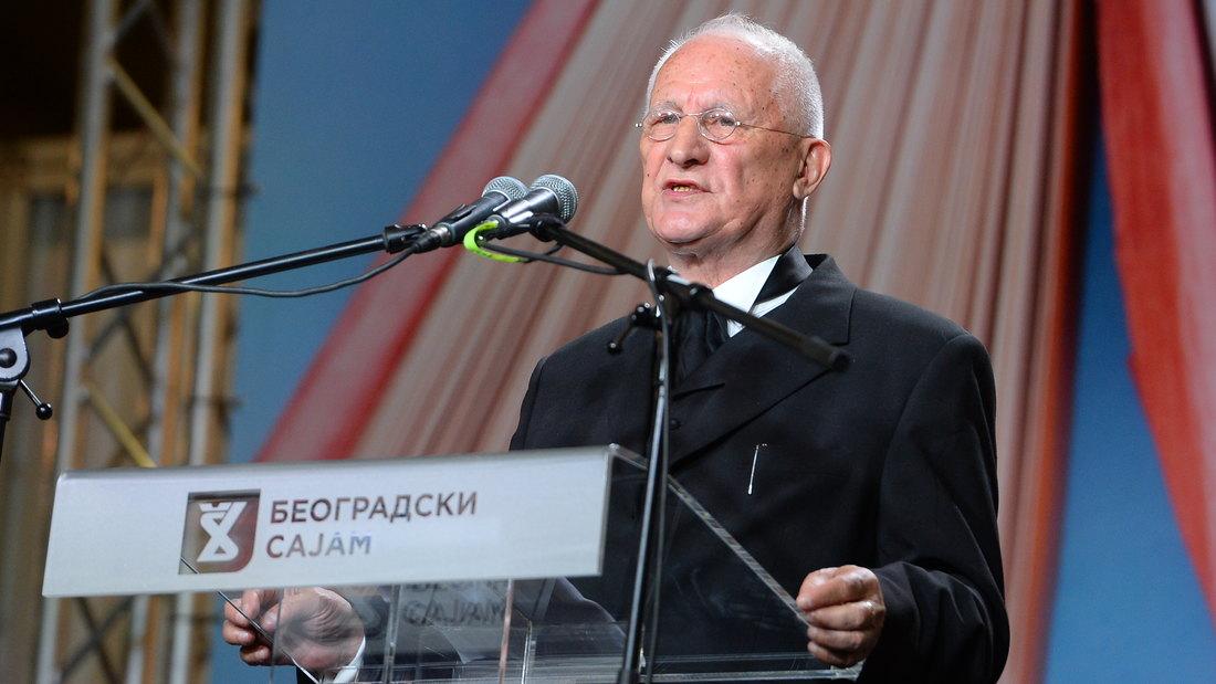 BEOGRAD: Matija Bećković otvorio 63. Sajam kniga