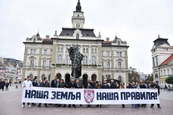 LSV: Fašisti neće šetati Vojvodinom