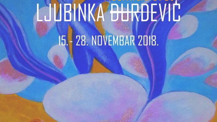 KREATIVNA FABRIKA: U Art – kafe galeriji izlaže Ljubinka Đurđević