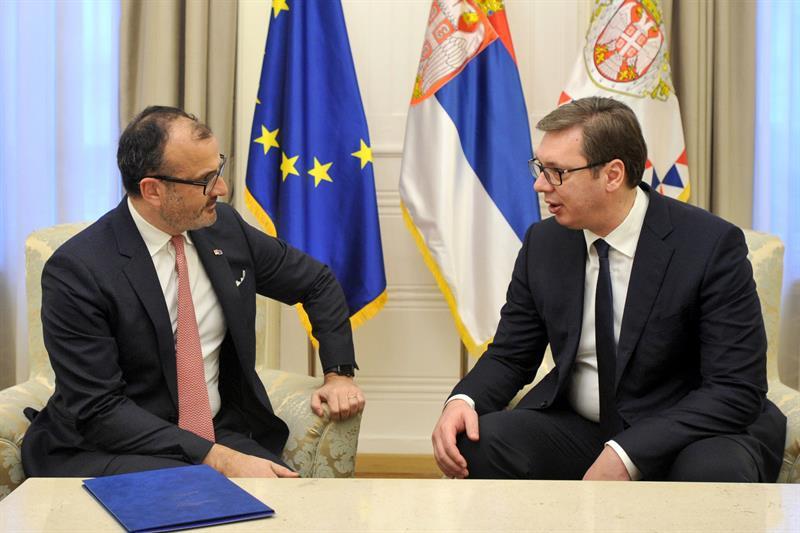 SRBIJA – EU: Vučić primio ambasadora Fabricija