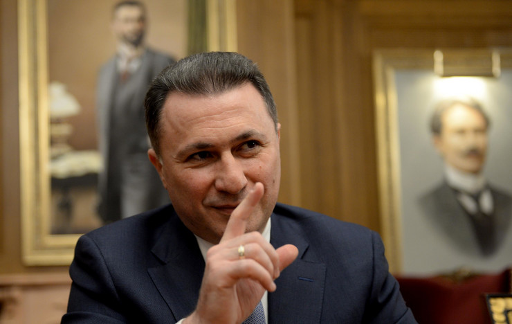 SOBRANJE MAKEDONIJE: Gruevskom oduzet poslanički mandat