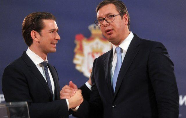GOST SRBIJE: Vučić je zahvalio Kurcu što je tako jasno rekao uslove za ulazak u EU