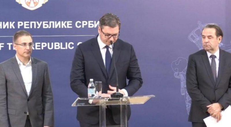 ALEKSANDAR VUČIĆ: Srbija neće uzvratiti Kosovu!