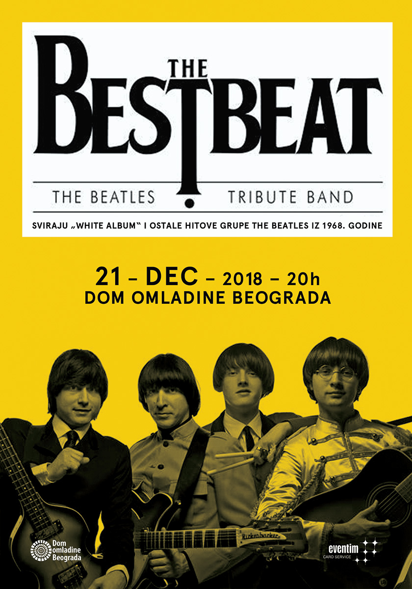 BEOGRAD: Veliki koncert The Bestbeat-a u Domu omladine