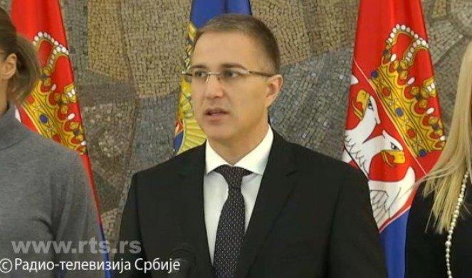 Ministar Stefnović o jučerašnjim događanjima u opštini Lučani