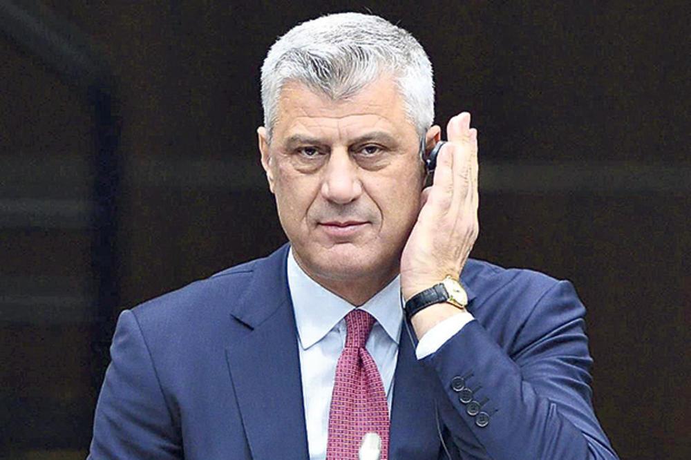 Tači: 2019 – Pravi trenutak za sporazum sa Srbijom