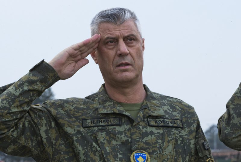 """Hašim Tači: """"Vojska – ujedinila ljude na Kosovu"""""""
