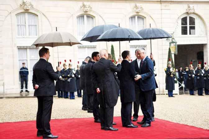Pariz: Makron se zahvalio Tačiju zbog dolaska 11. novembra