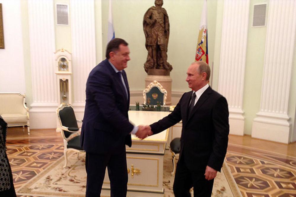 Dodik najavio susret sa Putinom