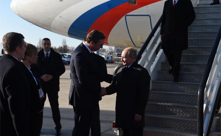 Vladimir Putin doputovao u Beograd