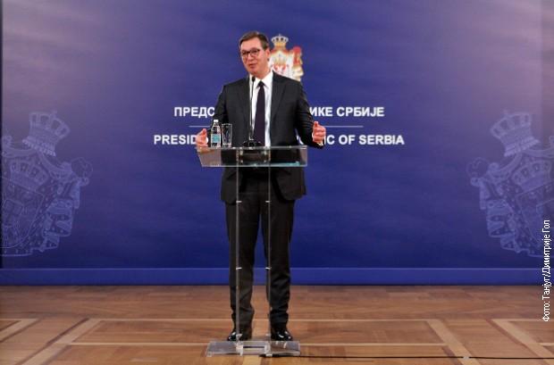 Konferencija za medije Aleksandra Vučića: Srbija juče bila svet, ali biće i u budućnosti