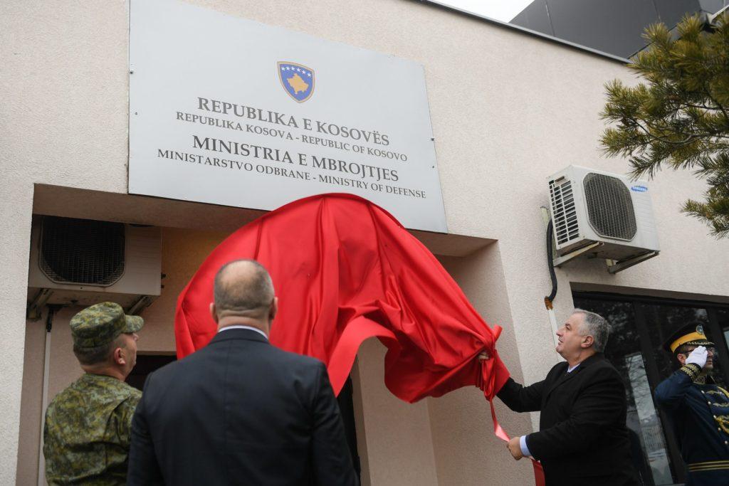 Priština: Otvoreno Ministarstvo vojske