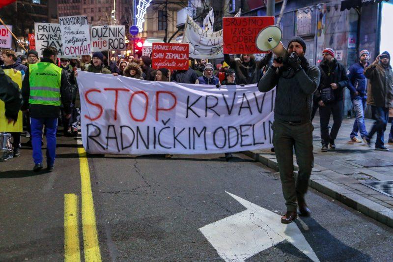 """Saopštnje """"Marksa21"""": Vučić i Đilas su samo simptomi jednog te istog sistema"""