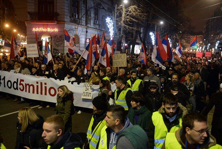 Nastavlja se: Protestanti traže smenu ministra Stefanovića