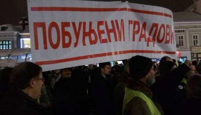 Niš: Veliki protest građana