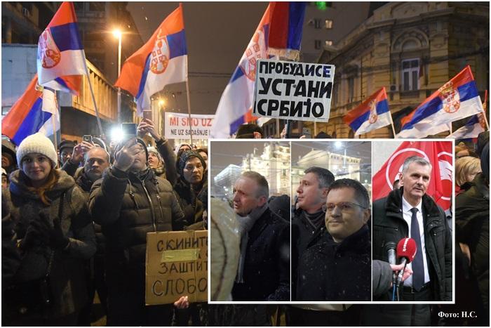 Odgovor SZS na zahtev protesta upućen opoziciji