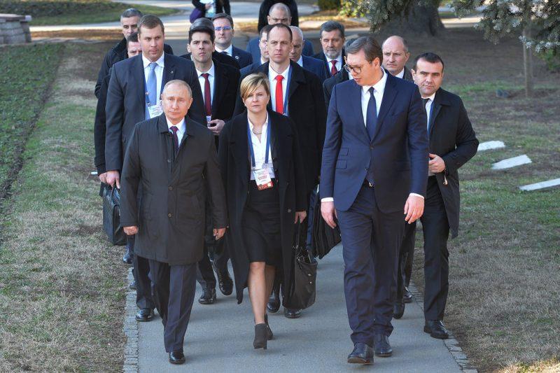 Putin u Srbiji: Vojska Kosova u suprotnosti za Rezolucijom 1244