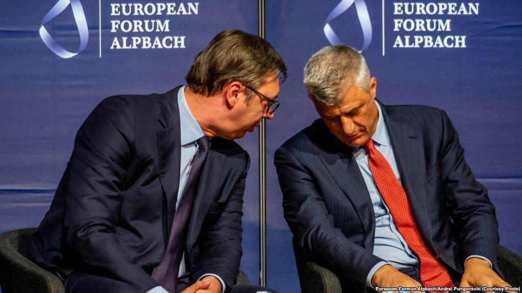 Koha ditore: Tramp priprema ceremoniju potpisivanja sporazuma između Prištine i Beograda