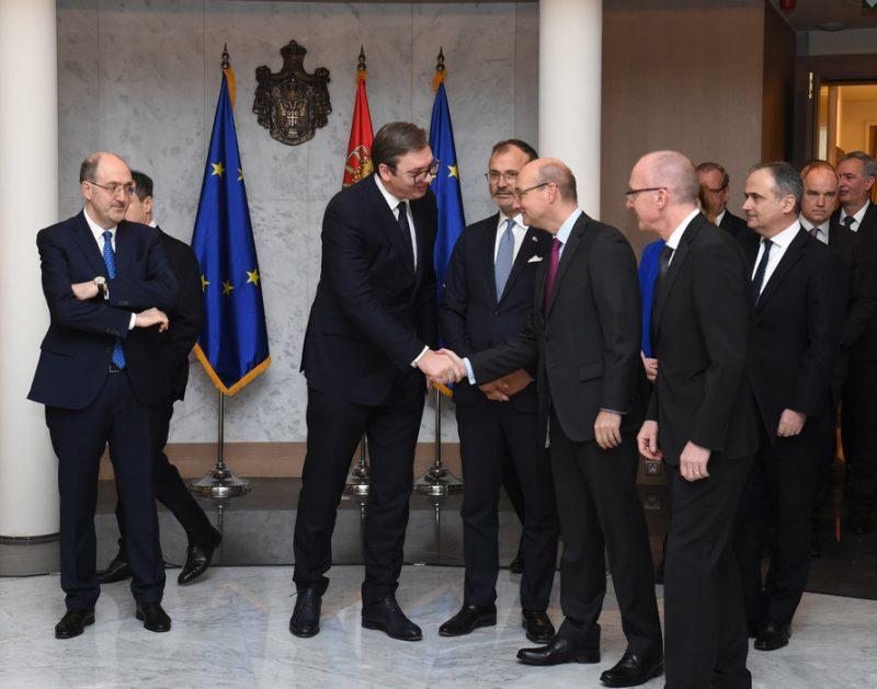 Aleksandar Vučić razgovra sa ambasatdorima EU – Kosovo centralna tema