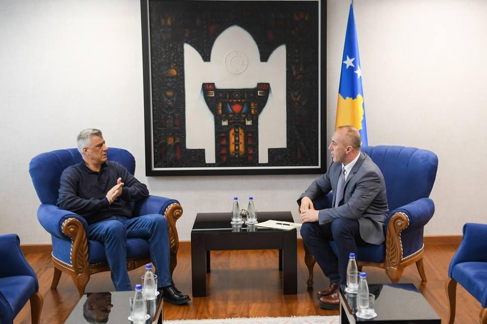 Kosovo: Sastanak Tačija i Haradinaja