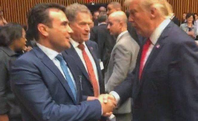 Tramp čestitao Zaevu ratifikaciju i primenu dogovora iz Prespe