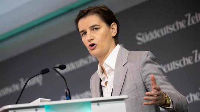 Premijerka Vlade Srbije: sloboda medija bolja nego pre 2012!